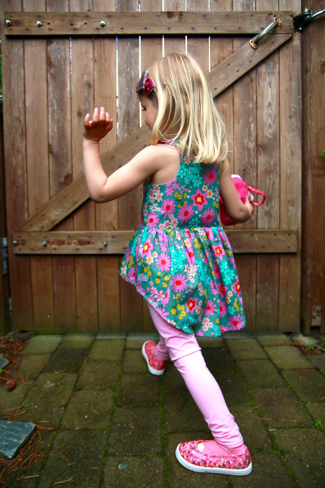 The Garden Girl Collection: The Stella Tunic and Leggings – by dagbjort